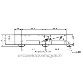 Комплект дневных ходовых огней Hella LEDayLine II 15°, 24В, без г/о, фото , изображение 2