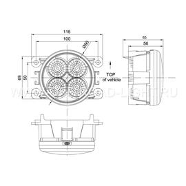 Комплект фар дневного освещения Magneti Marelli, фото , изображение 2