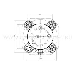 Модуль LTR D90, Дальний свет с г/о (FF, T4W ,H1) 24V, фото , изображение 5