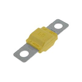 Предохранитель Midival 60A, желтый, фото-