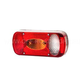 Задний комбинированный фонарь Fristom левый со светом заднего хода и освещением номера, фото