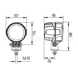 Module 90 FF Close Range, навесная, 12V/24V, фото , изображение 2
