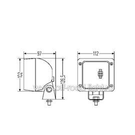 Ultra Beam FF Close Range, навес, Н3, Grommet, фото , изображение 3