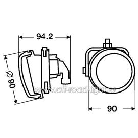 DynaView® Evo2, Правый оптический элемент (FF, H7), фото , изображение 3