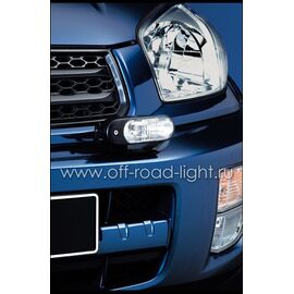 Фара дневного освещения с габаритным огнем D90мм (P21W, LED), фото , изображение 4