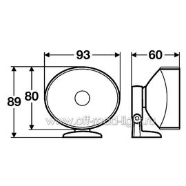 Комплект фар дневного освещения (16W), фото , изображение 2