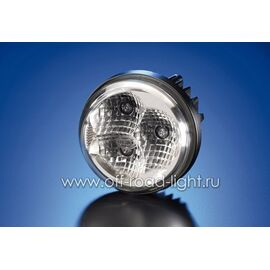 Правая фара дневного освещения D 90мм (LED), фото
