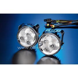 Комплект фар дневного освещения D 90мм (LED), фото