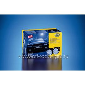 Комплект фар дневного освещения D 90мм (LED), фото , изображение 3