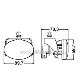 FF-40 Комплект фар дневного освещения (P21W), фото , изображение 2