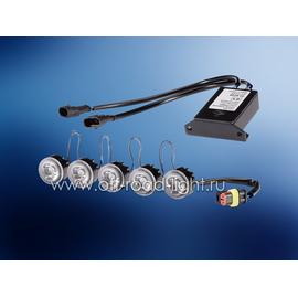 Комплект дневного освещения LEDayFlex 8x2 без функции г/о, фото