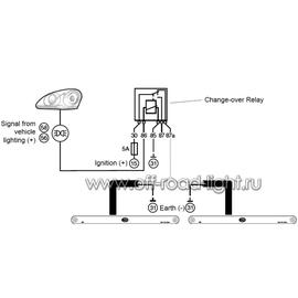 Комплект дневных ходовых огней Line (12 LED) 12V, фото , изображение 3