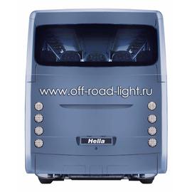 Задний светодиодный фонарь, прозр/крас стекло (24 LED) 9-31V, фото , изображение 4