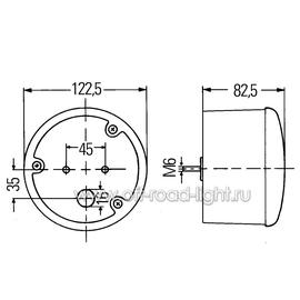 Габаритный огонь, стоп сигнал и указатель поворота, P21/5W, P21W, фото , изображение 2