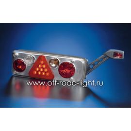 Задний комбинированный фонарь с резиновым рогом. Right, фото