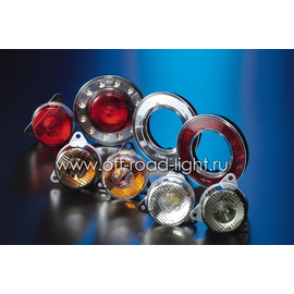 Передний габаритный огонь LED, D55мм/98мм, 1.8W 24V, фото , изображение 3