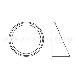 Набор для установки фар OSRAM LEDFOG 103/201 VW MOUNT, Nissan, фото , изображение 3