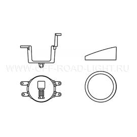 Набор для установки фар OSRAM LEDFOG 103/201 TY MOUNT, Toyota, фото , изображение 2