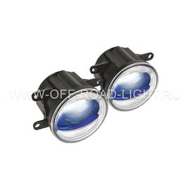 """Фара противотуманная OSRAM LEDFOG103 BL """"Орлиный глаз"""", 6000K, голубой, 4W/12W, фото"""
