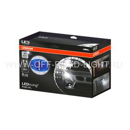 """Фара противотуманная OSRAM LEDFOG103 BL """"Орлиный глаз"""", 6000K, голубой, 4W/12W, фото , изображение 4"""
