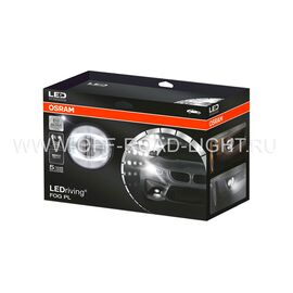 """Фара противотуманная OSRAM LEDFOG103 SR """"Орлиный глаз"""", 6000K, серебристый, 4W/12W, фото , изображение 4"""