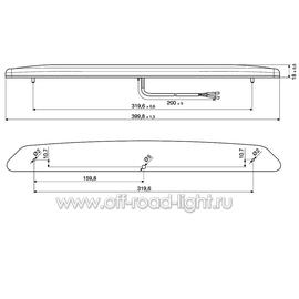 Стоп сигнал для внешней установки (12 LED) 12V, фото , изображение 2
