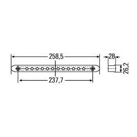 Дополнительный стоп-сигнал LED 12В, фото , изображение 2