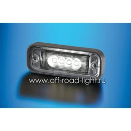 Встраиваемая подсветка номерного знака (4 LED) 24V, фото