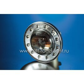 Задний габаритный огонь LED, D55мм/98мм, 1.8W 24V, фото , изображение 5