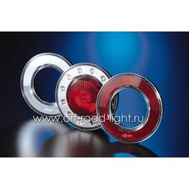 Задний стоп сигнал LED, D55мм/98мм, 2.1W 24V, фото , изображение 6