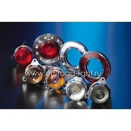Задний габаритный огонь LED, D55мм/98мм, 1.8W 12V, фото , изображение 3