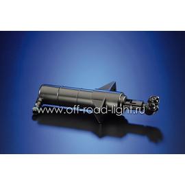 Телескопический струйный омыватель фар, сдвоенная форсунка 12v, фото-