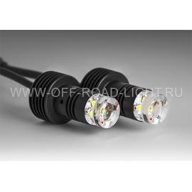 Двухцветная LED система, LOCATOR COMBO RW, красно-белая, г/о, стоп, задний ПТФ, з/ход, черный, фото