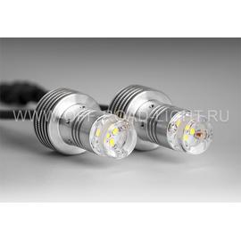 Двухцветная LED система, LOCATOR COMBO WY, бело-оранжевый, задний ход, поворот, анти хвост, фото