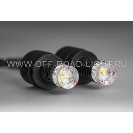 Многофункциональная светодиодная система Solar, комплект 2 шт, черный, фото-