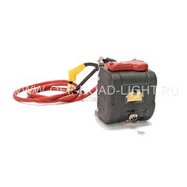 Лебедка автомобильная электрическая 4x4 с синтетическим тросом, фото , изображение 2