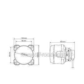 D90мм Дальний свет, Ксенон, оптический элемент (FF, D2S), фото , изображение 3