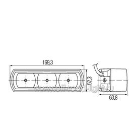 Комплект фар дневного освещения (LED), фото , изображение 2