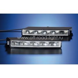 Светодиодная фара дневного освещения LEDayLine, 12V, левая, фото-