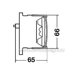 Задний габаритный огонь/стоп сигнал LED 24V, фото , изображение 2
