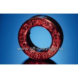Задний декоративный фонарь, красный, фото