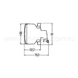 Передний указатель поворота Hella PY21W 12В-21Вт, разъем 2pin, фото , изображение 2