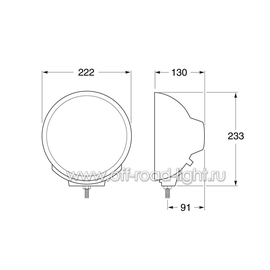 Luminator Metal Дальний свет Ref.37,5 (FF, H1/W5W), фото , изображение 2