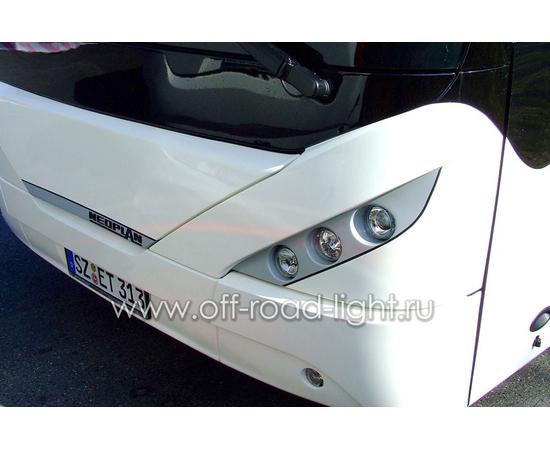 Модуль LTR D90, Дальний свет с г/о (FF, T4W ,H1) 24V фото-8