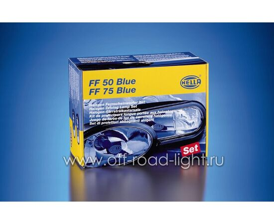 FF 75 Blue Light Дальний свет, Ref. 12,5 (FF, H7) фото-4