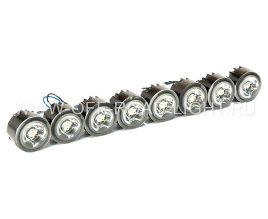 Комплект дневного освещения LEDayFlex 8x2 без Г/о, фото-