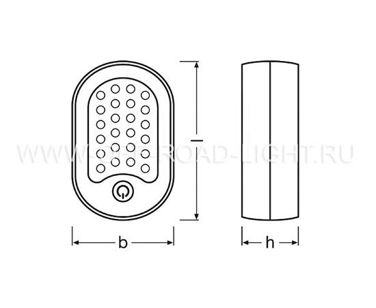 Фонарь светодиодный инспекционный OSRAM LEDinspect Mini 125, 1.6W, фото , изображение 2