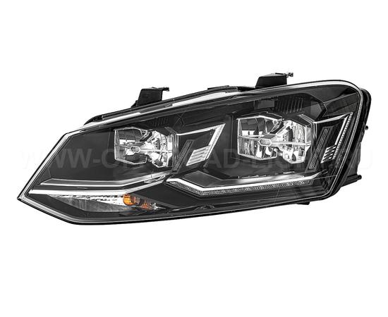 Фара основная Volkswagen Polo IV, LED, левая, фото