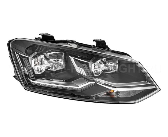 Фара основная Volkswagen Polo IV, LED, правая, фото