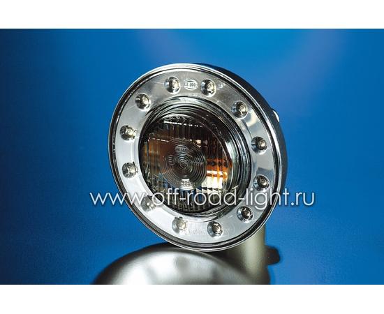 Передний указатель поворота с прозрачным стеклом (PY21W) фото-8